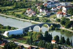 Vista del ponte in Trebinje Immagine Stock Libera da Diritti
