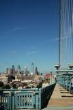 Vista del ponticello della città   Fotografie Stock Libere da Diritti