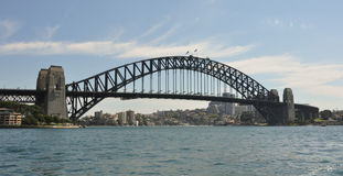 Vista del ponticello di porto di Sydney Immagine Stock