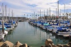 Vista del porto Immagini Stock