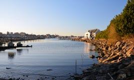 Vista del porto Immagine Stock Libera da Diritti