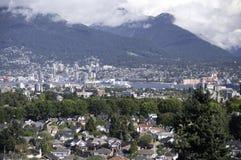Vista del porto interno di Vancouvers Fotografia Stock Libera da Diritti