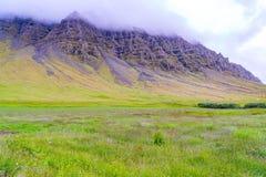 Vista del prato all'alta montagna Fotografia Stock Libera da Diritti