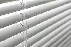 Vista del primo piano della finestra con l'orizzontale fotografie stock libere da diritti