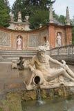 Vista del primo piano delle statue del castello di Hellbrunn (Austria) Fotografie Stock Libere da Diritti