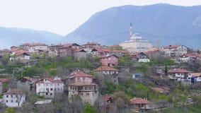 Vista del pueblo de Anatolia del otomano tradicional, Safranbolu, Turquía metrajes