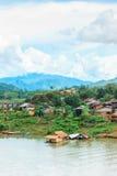 Vista del pueblo de lunes imagen de archivo libre de regalías