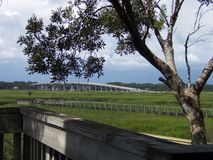 Vista del puente Imagen de archivo libre de regalías