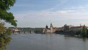 Vista del puente de ChaRTes, Praga metrajes