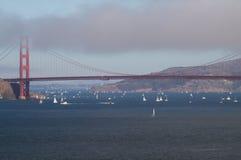 Vista del puente de puerta de oro imagen de archivo libre de regalías