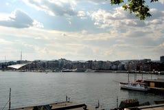 Vista del puerto Fotografía de archivo libre de regalías