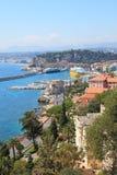 Vista del puerto de la ciudad de Niza. Imagenes de archivo