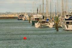 Vista del puerto deportivo, Auckland, Nueva Zelanda Fotografía de archivo
