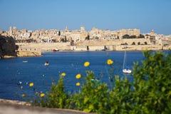 Vista del puerto magnífico Imagen de archivo