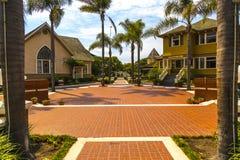 Vista del quadrato di eredità in Oxnard, California Fotografie Stock Libere da Diritti