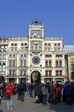 Vista del quadrato di Venezia fotografie stock