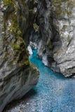 Vista del río de Soca en Eslovenia, Europa Imagenes de archivo