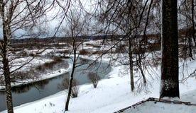Vista del río Sorot imagen de archivo libre de regalías