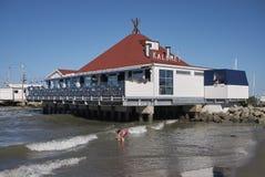 Vista del restaurante de Kalumet Imágenes de archivo libres de regalías