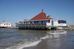 Vista del restaurante de Kalumet Imagenes de archivo