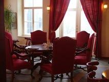 Vista del ristorante Fotografie Stock Libere da Diritti