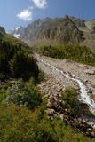 Vista del riverr della montagna Fotografia Stock Libera da Diritti