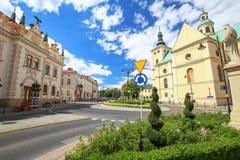 Vista del Rzeszow polonia Fotos de archivo