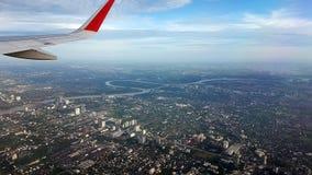 Vista del ` s dell'ala dalla cima Immagini Stock Libere da Diritti