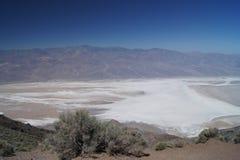 Vista del ` s di Dante a Death Valley fotografia stock libera da diritti