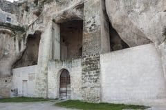Vista del Sassi de Matera Fotografía de archivo libre de regalías