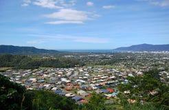 Vista del sobborgo dei cairn dalla collina Fotografie Stock