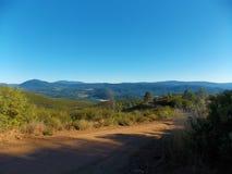 Vista del sud dal Mt Konocti Fotografie Stock