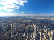 Vista del sud di Manhattan Fotografie Stock