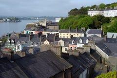 Vista del sughero della contea della città del cobh Fotografia Stock Libera da Diritti