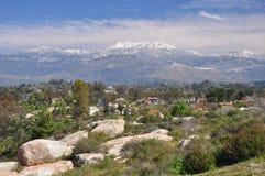 Vista del supporto San Jacinto Fotografia Stock