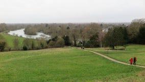 Vista del Tamigi a Richmond fotografia stock libera da diritti