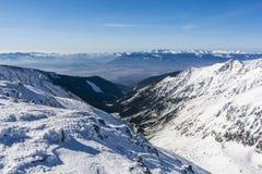 Vista del Tatra basso Fotografie Stock