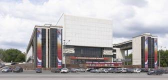 Vista del teatro di Gorkij Immagini Stock Libere da Diritti