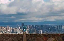 Vista del telescopio di San Francisco Immagine Stock Libera da Diritti