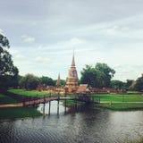 Vista del tempio Immagini Stock Libere da Diritti