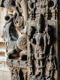 Vista del tempio di Sri Jalakandeswarar in Vellore fotografia stock