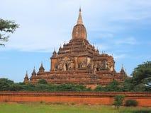 Vista del tempio di Sulemani nel Myanmar Immagini Stock Libere da Diritti