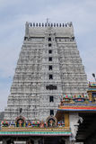 Vista del templo de Annamalaiyar, Tiruvannamalai, la India Imagen de archivo
