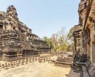 Vista del templo de Phuon de los vagos, Angkor Thom, Siem Reap, Camboya Fotografía de archivo libre de regalías