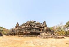 Vista del templo de Phuon de los vagos, Angkor Thom, Siem Reap, Camboya Foto de archivo
