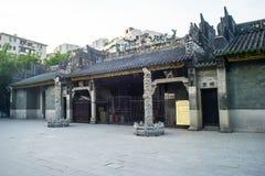 Vista del templo de Renwei Foto de archivo