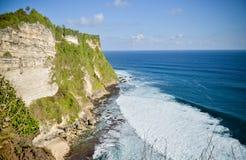 Vista del templo del mar del Balinese Foto de archivo libre de regalías