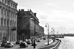 Vista del terraplén del palacio Foto de archivo libre de regalías
