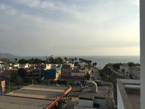 Vista del tetto Immagini Stock