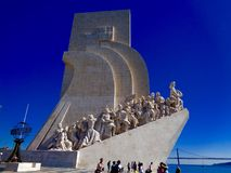 Vista del tetto di Lisbona, Portogallo immagini stock libere da diritti